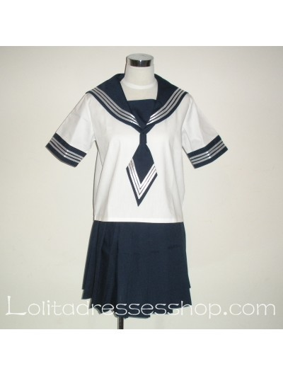 black and white school uniforms