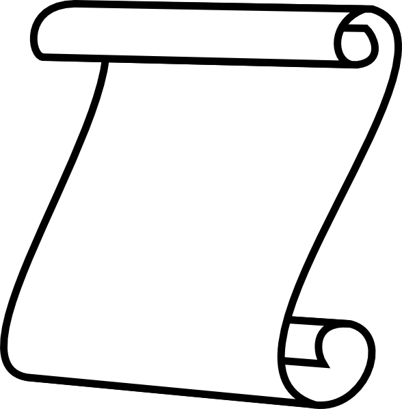 Scroll, White Background Clip Art at Clker.com.
