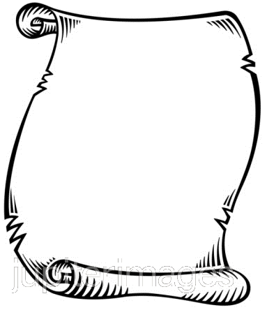Black And White Scroll.
