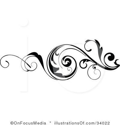Free Scroll Design Clip Art.