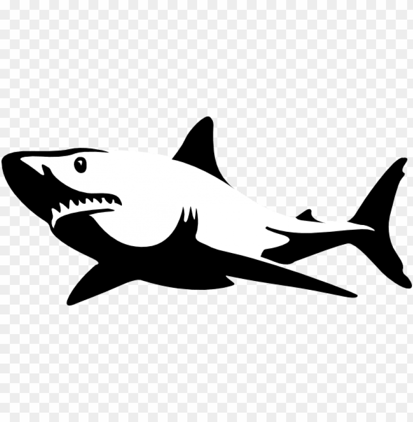 Download shadow clipart shark.
