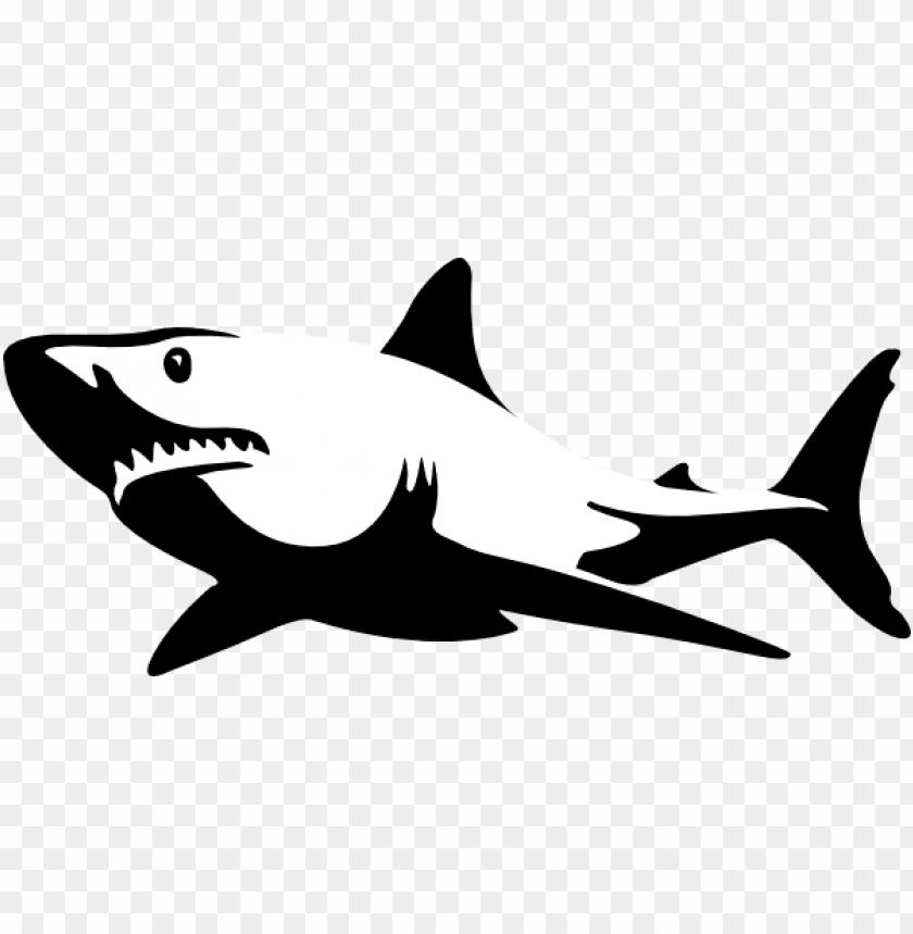 Download shadow clipart shark.