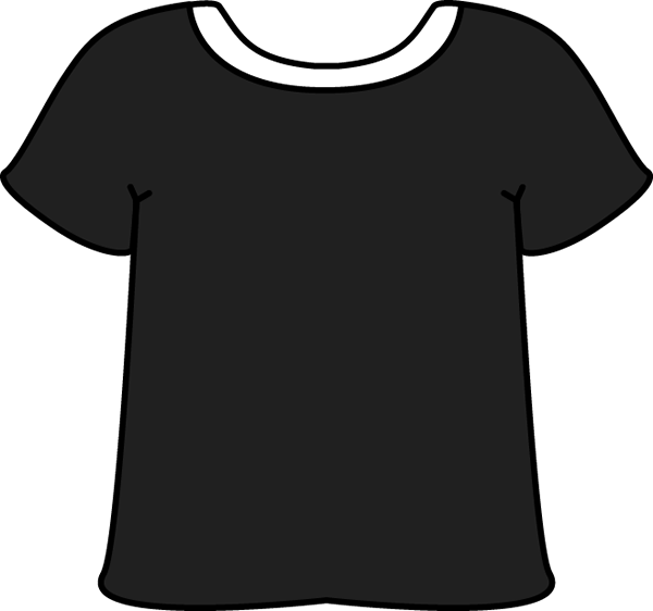 T Shirt Clipart Black And White & T Shirt Black And White Clip Art.