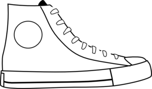 White Shoes Clipart.