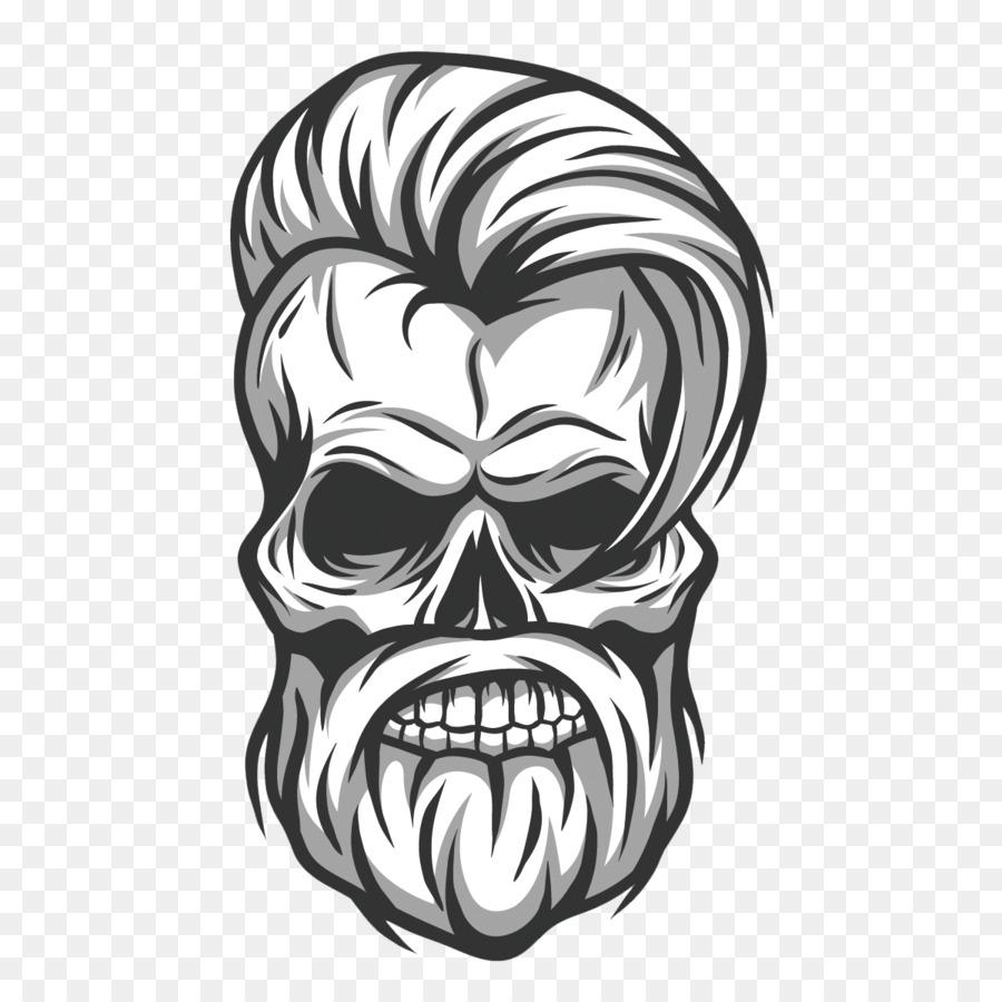 Skull Tattoo png download.