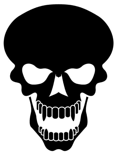 Skull PNG, White And Black Skull Clipart Free Download.