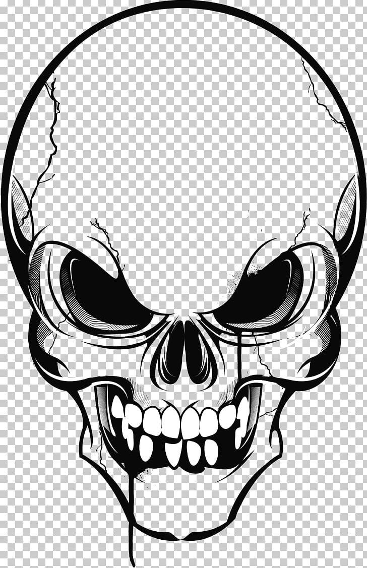Calavera Skull Drawing PNG, Clipart, Artwork, Black And White, Bone.