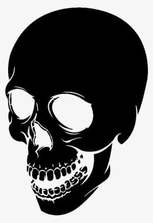 Black Skull PNG, Free HD Black Skull Transparent Image.