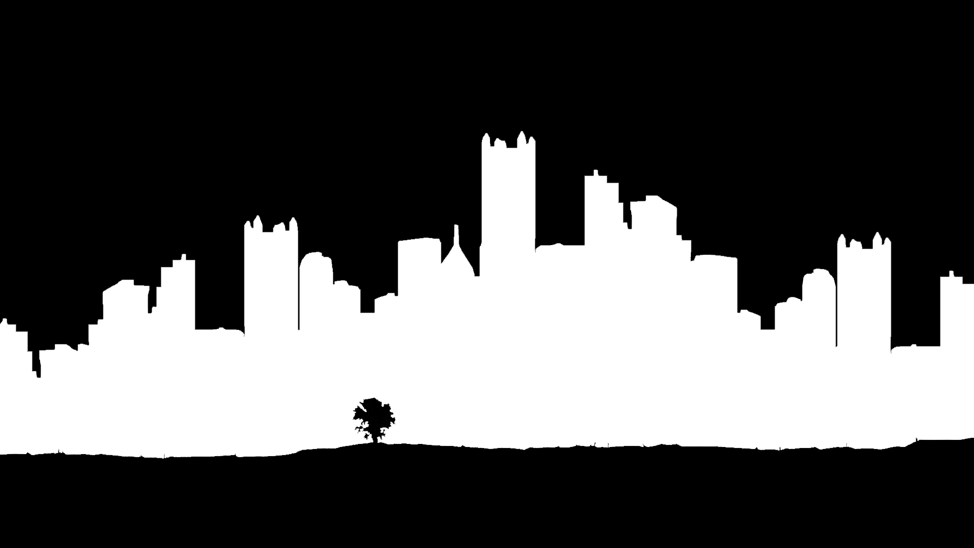 Free City Skyline Clipart Black And White, Download Free.
