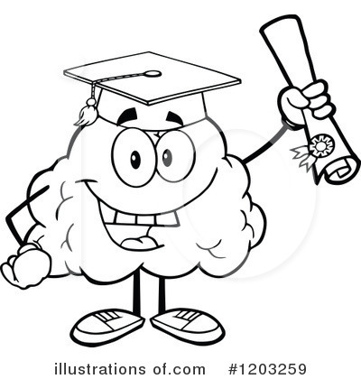 Smart clipart black and white 4 » Clipart Station.