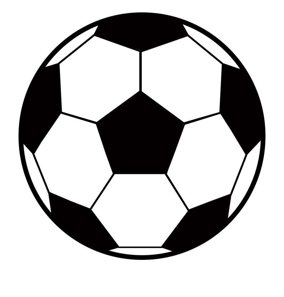 Soccer Ball Clipart Outline.