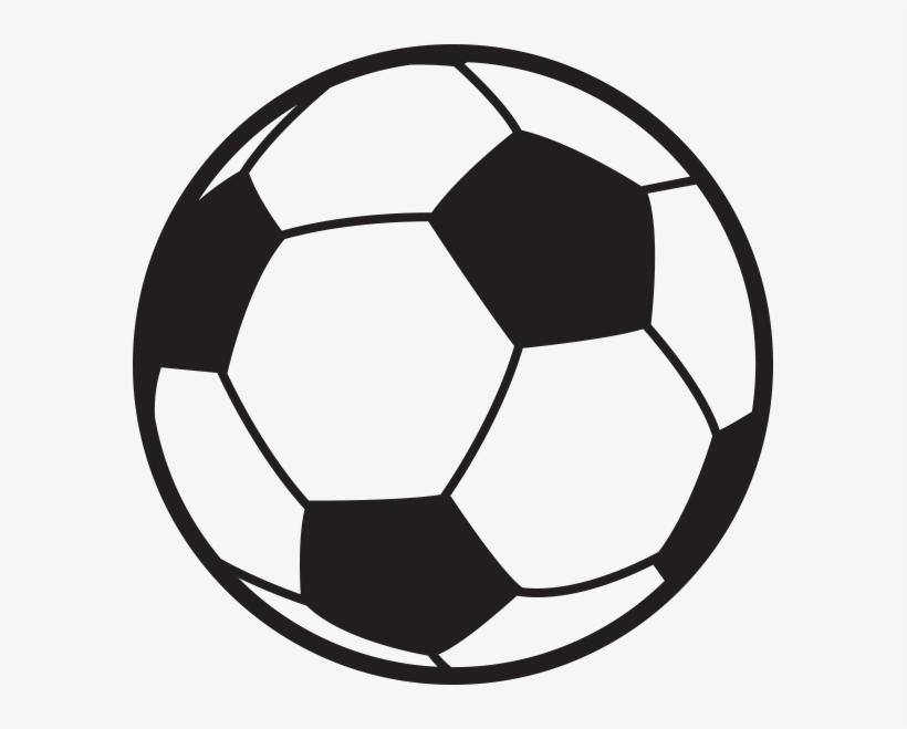 Black Soccer Ball Clipart.