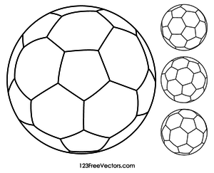 22480 soccer ball clip art outline white.
