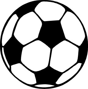 Black And White Soccer Clipart.