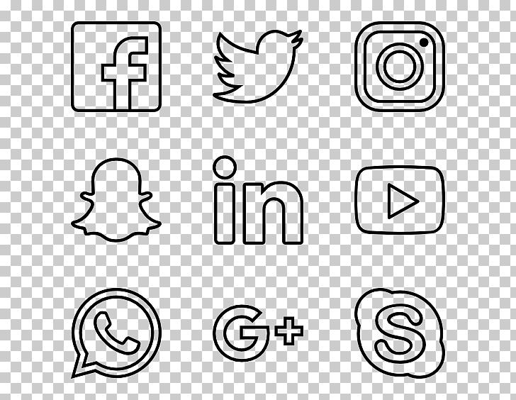 Computer Icons Encapsulated PostScript, social media icons.