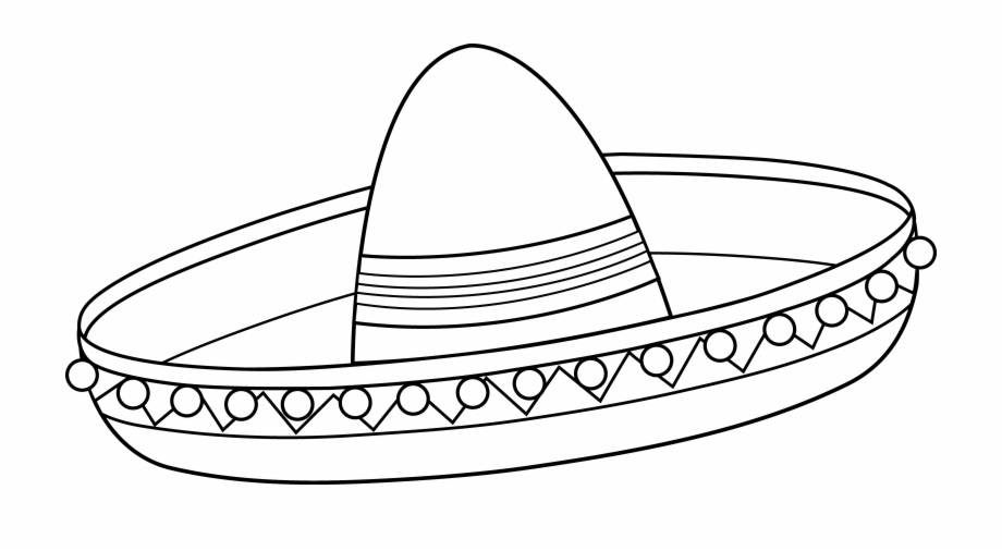 Download High Quality sombrero clipart white Transparent PNG.