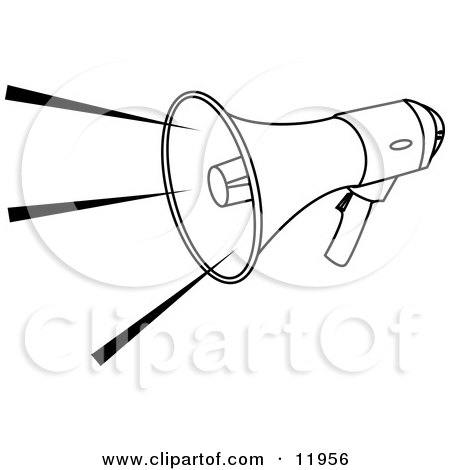 Loud sounds clipart black and white 1 » Clipart Station.