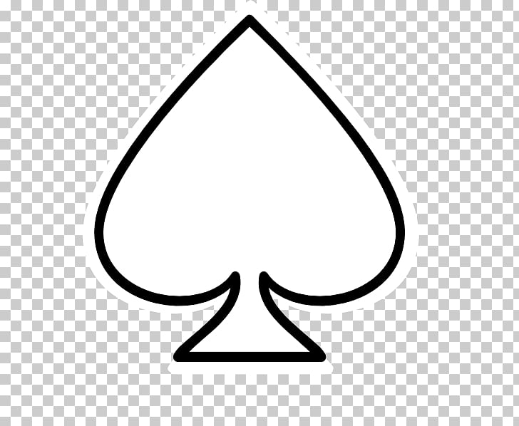 Bucket and spade Ace of spades , ace card, black and white.