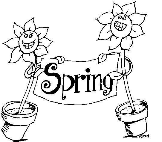 Spring Clipart Black And White (93+ images in Collection) Page 1.