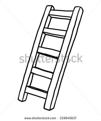 Stairs clipart black and white 4 » Clipart Station.
