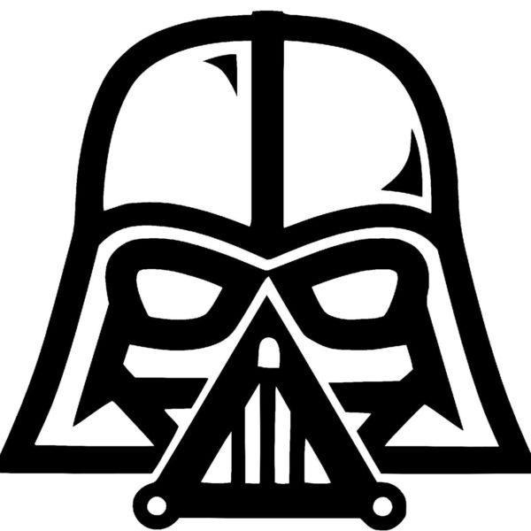884 Darth Vader free clipart.