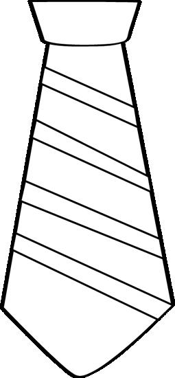 Neck tie clipart #5