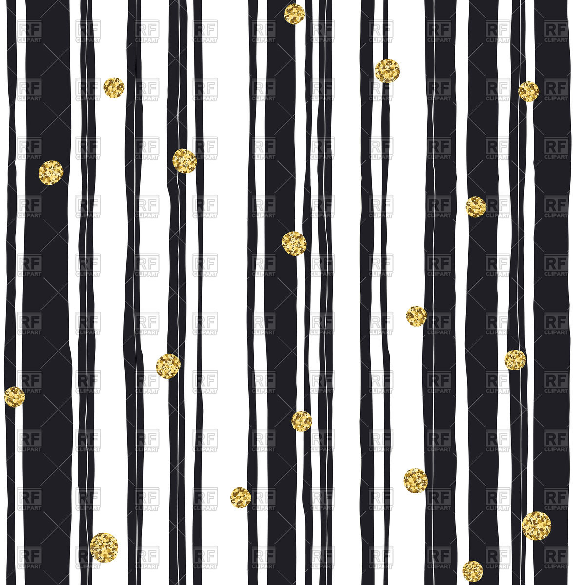 Black white and grey striped clipart.