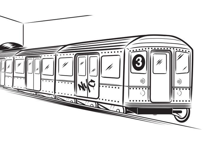 338 Subway free clipart.