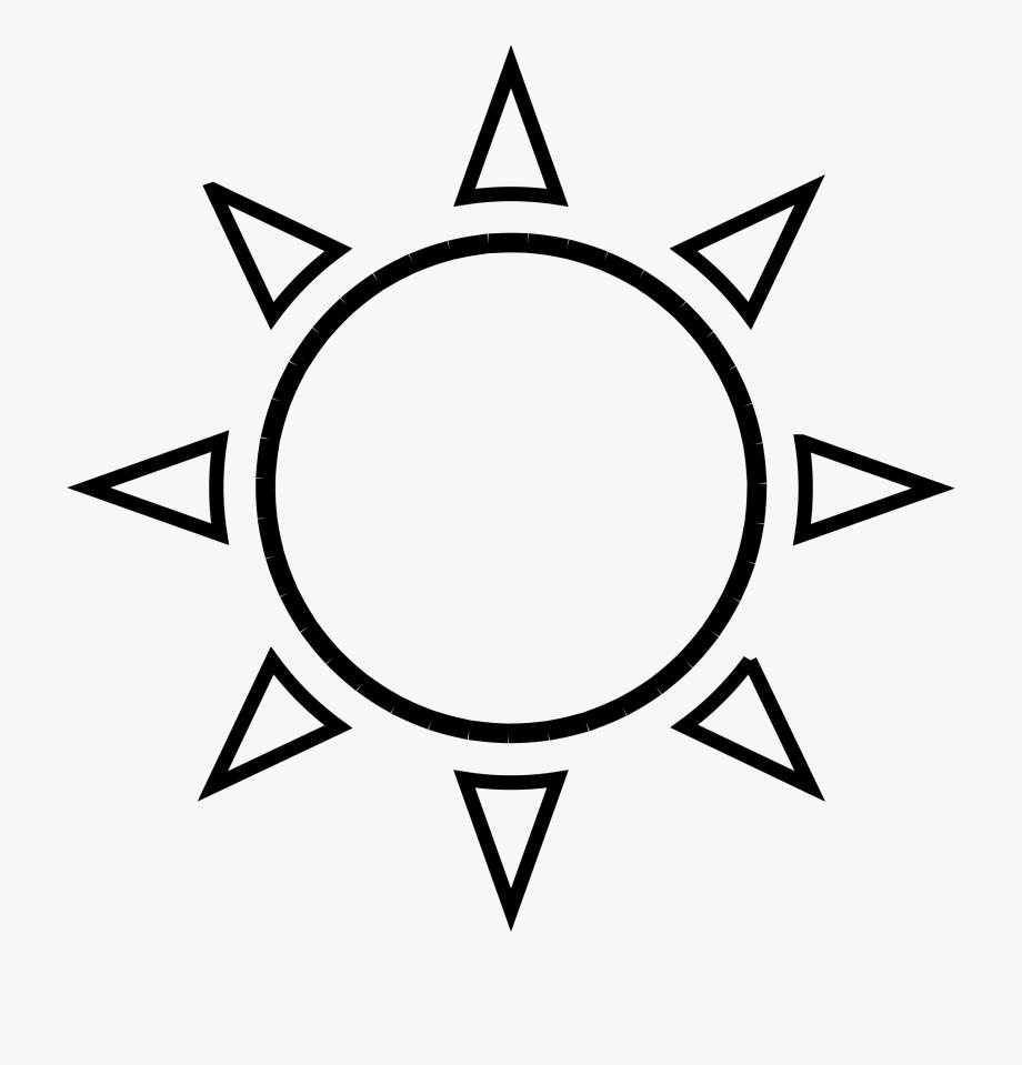 Outline Sun Clipart, Explore Pictures.