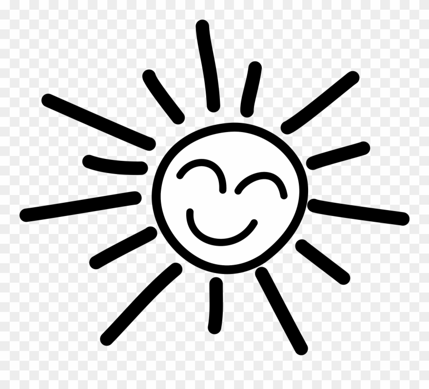 Happy Stick Figure Clip Arthappy Sun Clipart Black.