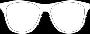 Black And White Sunglass Frames Clip Art at Clker.com.