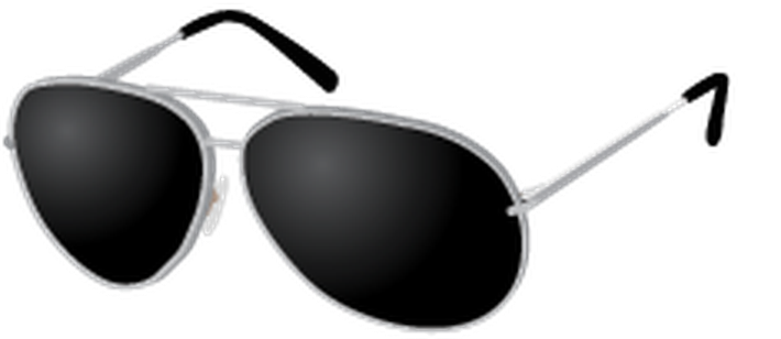 Sunglasses glasses clipart black and white free clipart images.