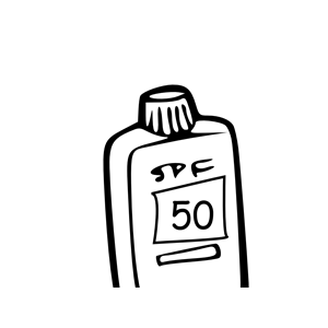 Sunscreen 50 clipart, cliparts of Sunscreen 50 free download.