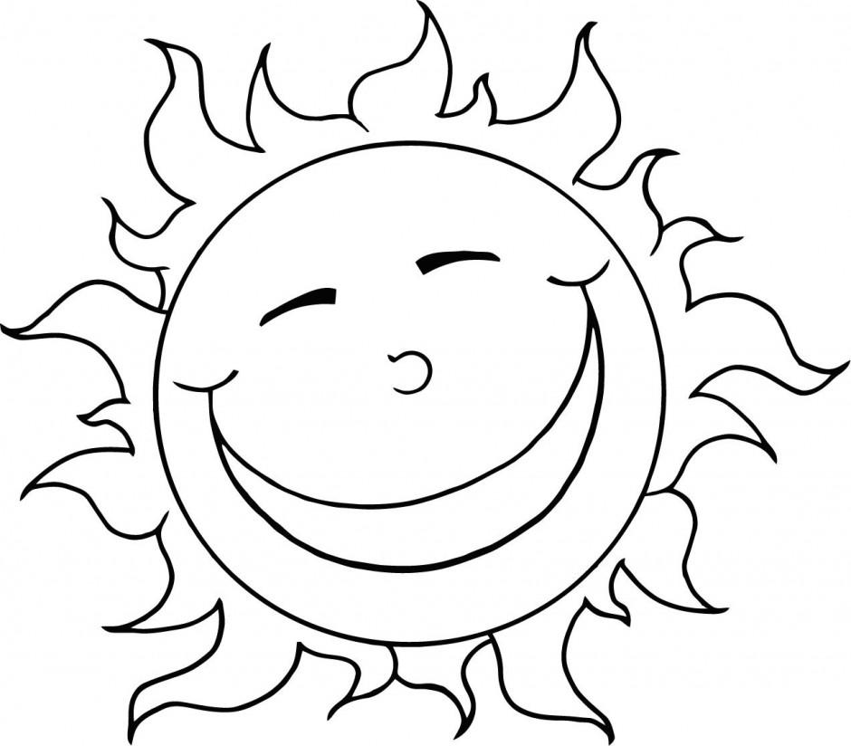 Sun black and white sunshine black and white clipart kid 2.