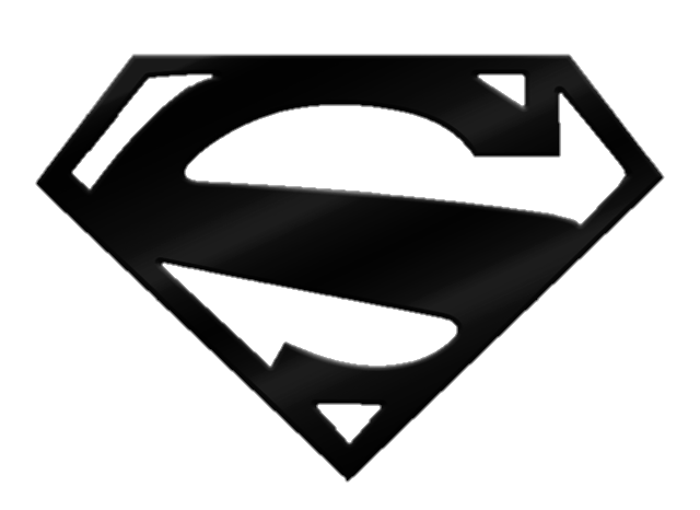 Black Superman Logo Png & Free Black Superman Logo.png.