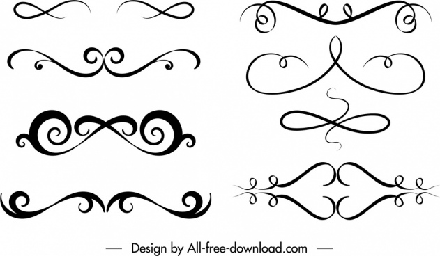 Free decorative swirl clipart free vector download (32,419.