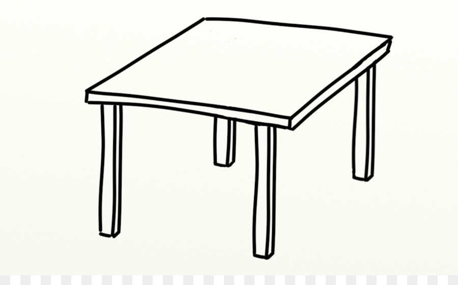 Rectangle Table Png Black And White & Free Rectangle Table Black And.