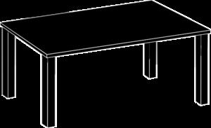Black Table Clip Art at Clker.com.