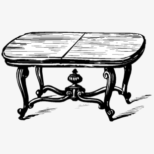 Old Table Png.