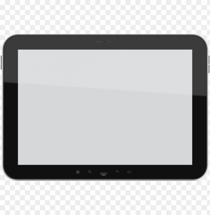 Download tablet video frame clipart png photo.