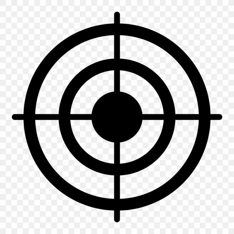 Bullseye Shooting Target Clip Art, PNG, 1024x1024px.
