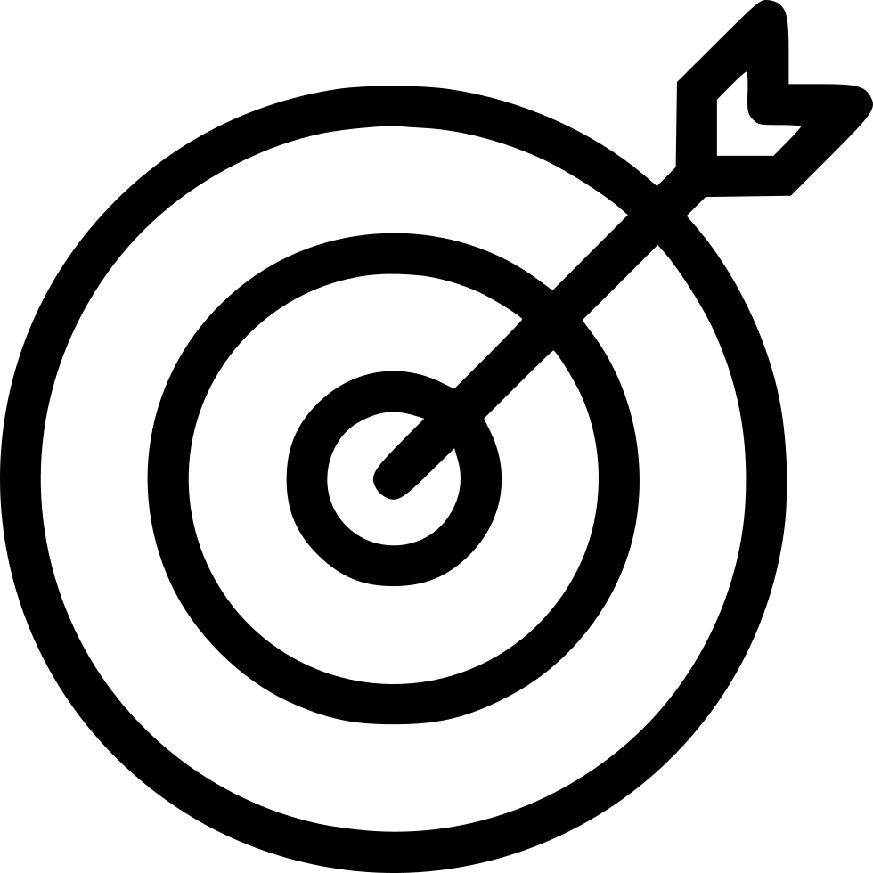 Free Target Clipart Black And White, Download Free Clip Art.