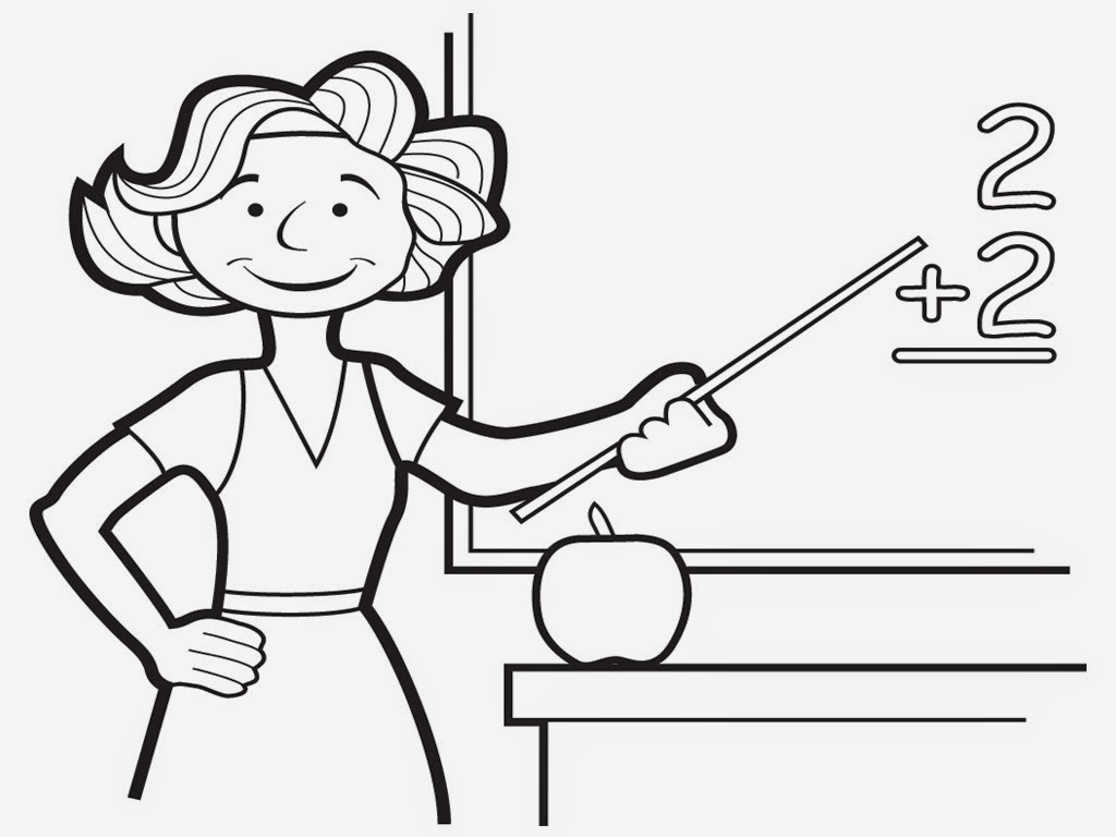 Teacher Clipart Black And White (98+ images in Collection) Page 3.