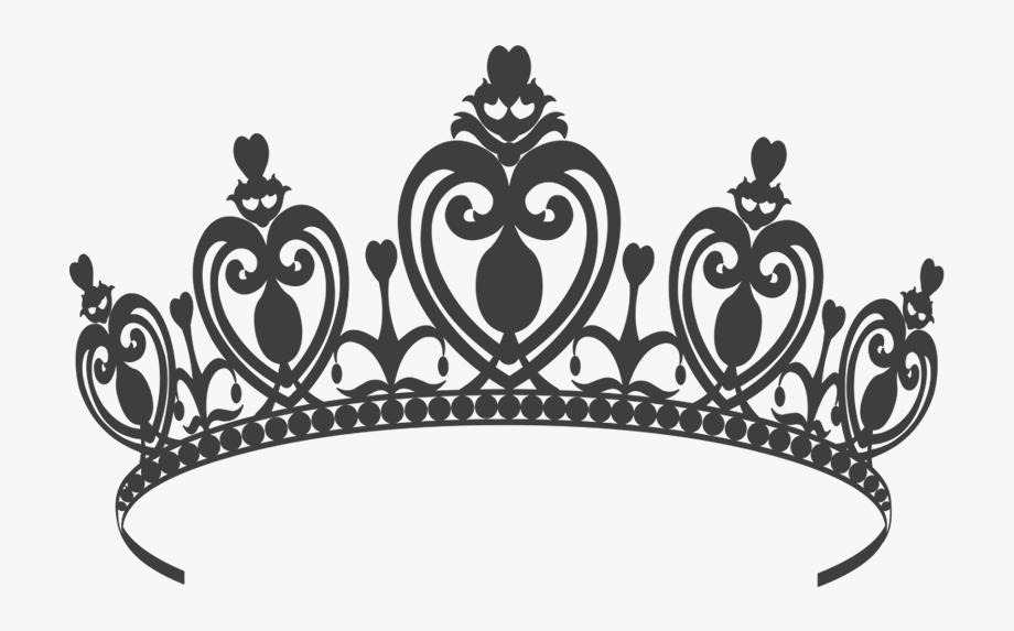 Princess Crown Black And White Png 5 » Png Image.
