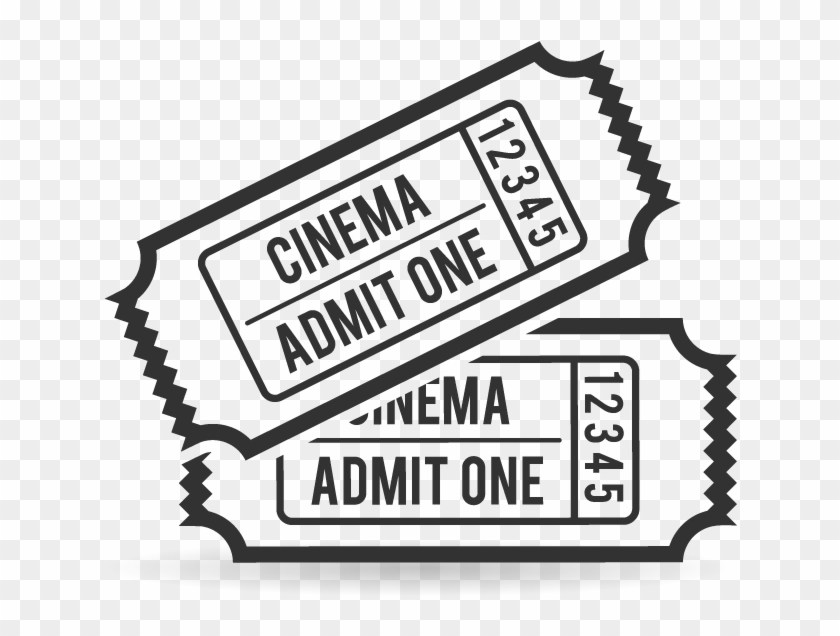 Ticket Clipart Black And White.
