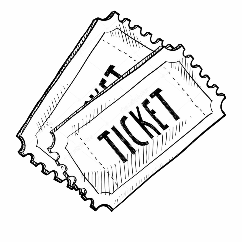 Download High Quality ticket clipart black Transparent PNG.