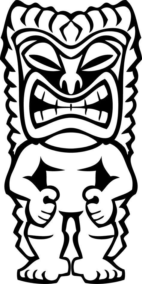 Hawaiian Tiki Clip Art Clipart Panda Free Clipart Images.