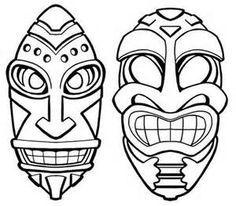 Tiki+Mask+Clip+Art.