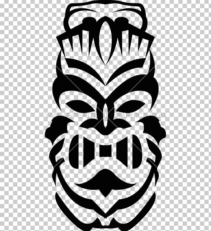 Tiki Culture Tiki Bar PNG, Clipart, Art, Black And White, Drawing.