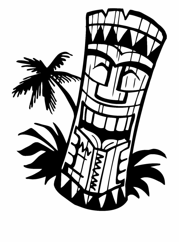 Hawaiian Tiki Clip Art Borders Free Clipart Images.